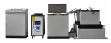 Tilting type small coating machine