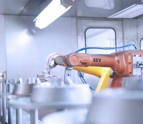 Junhe automobile brake disc induction heating spray line