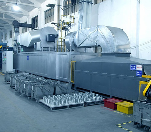 14 Meters GAS Curing Furnace For Zinc Flake Coating Line FG1412