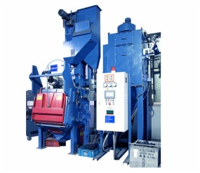 Automatic Shot Blasting Machine / Industrial Shot Blasting Equipment Q326