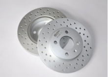 Dacromet paint special brake disc